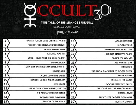 occult30 itinerary